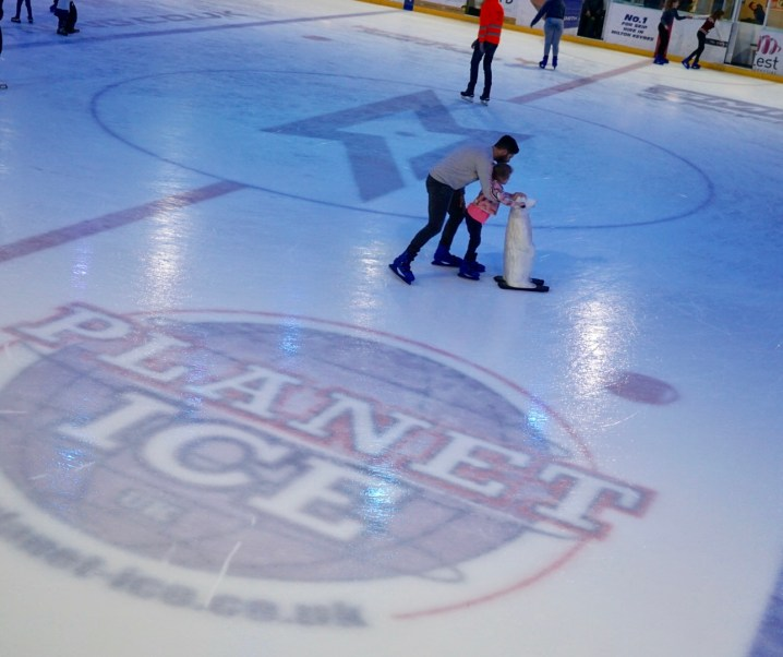 Our family fun day at Planet Ice MK
