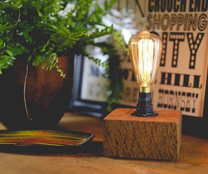 MooBoo Home's rustic handmade lighting at Amazon Handmade