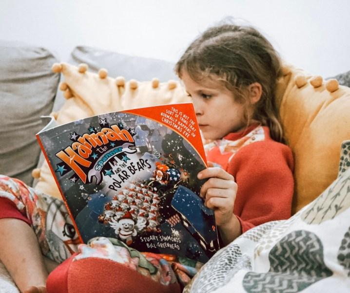 Hannah the Spanner and the polar bear #ChristmasBook