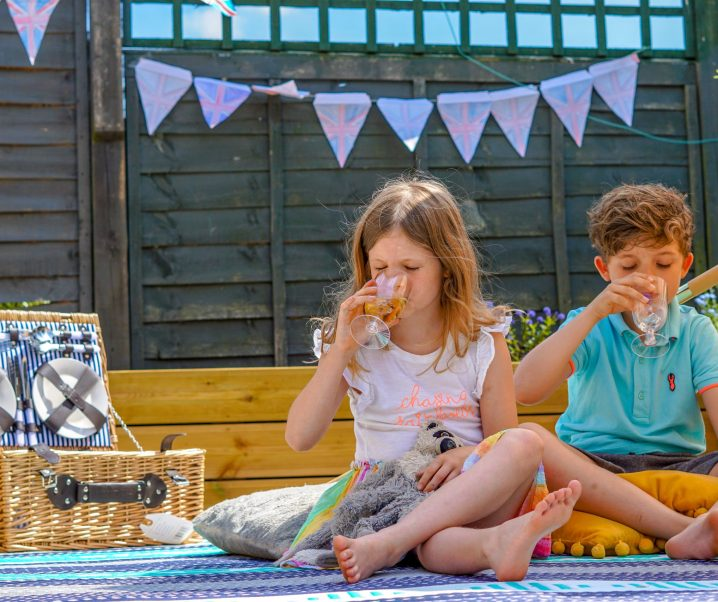 Creating a family picnic at home