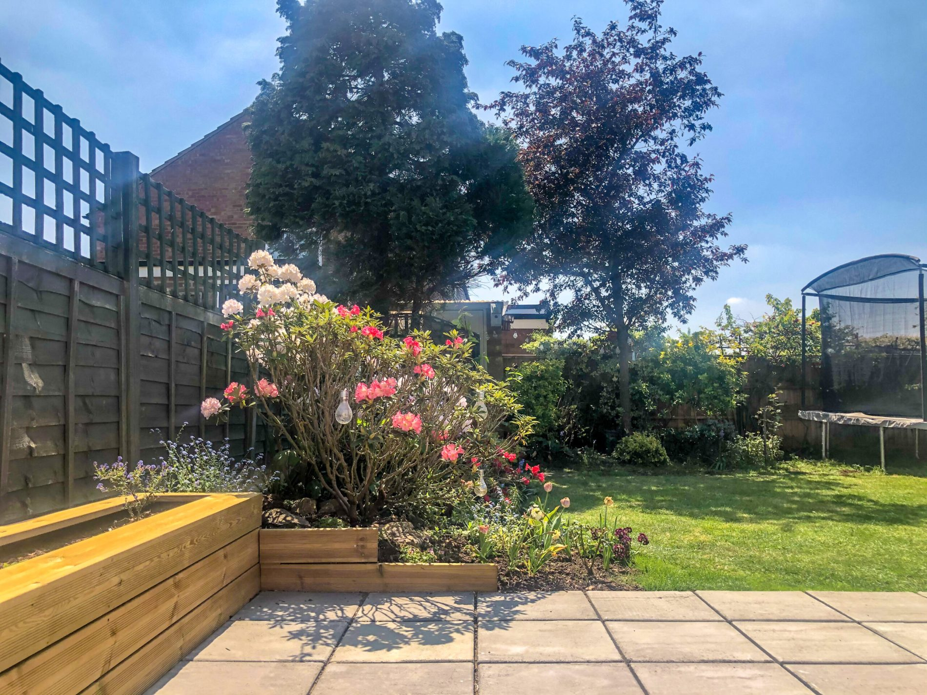 outdoor space = garden