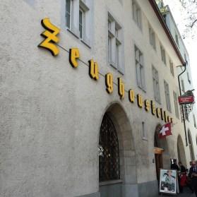 Zeughauskeller Zurich Switzerland