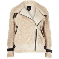 River Island Borg Jacket.