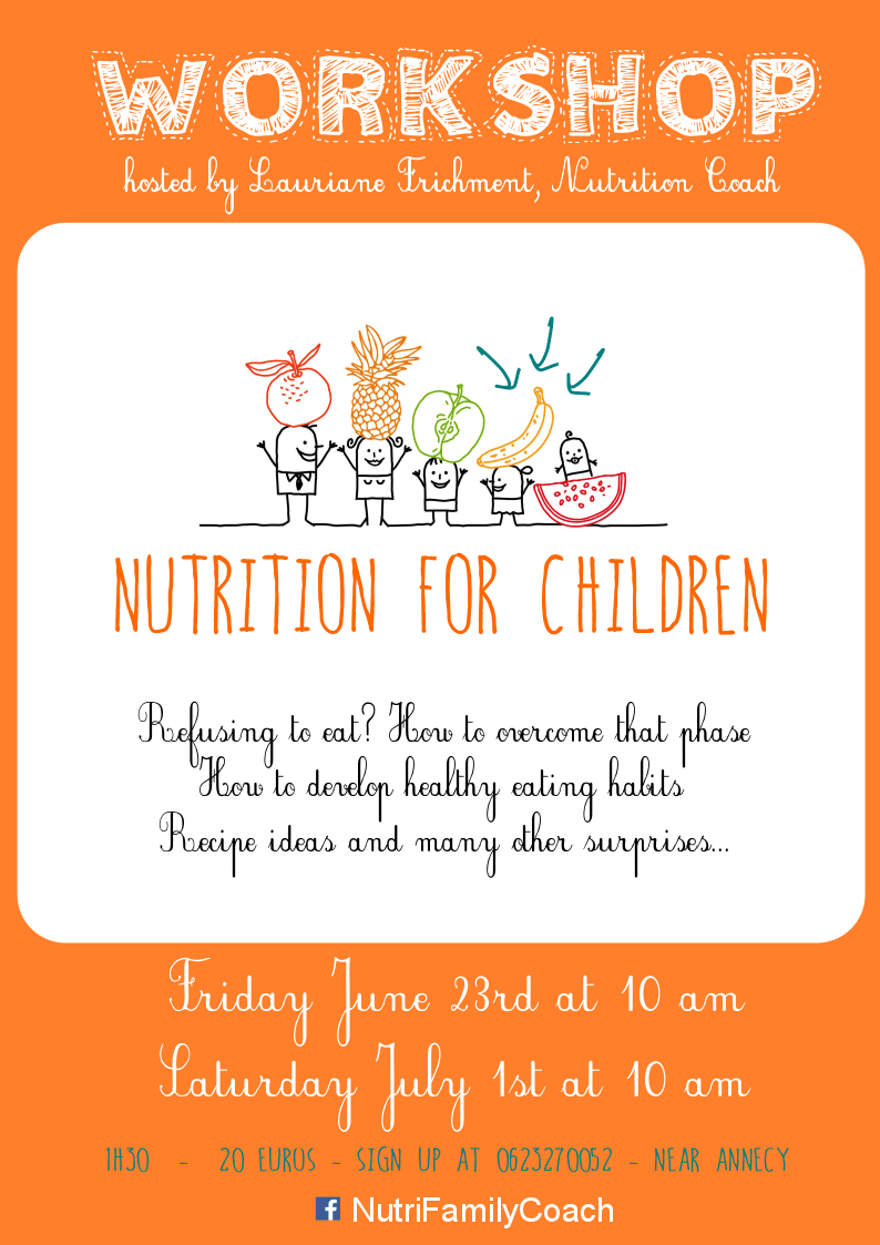Nutrition Workshop for children - Nutri Family Coach