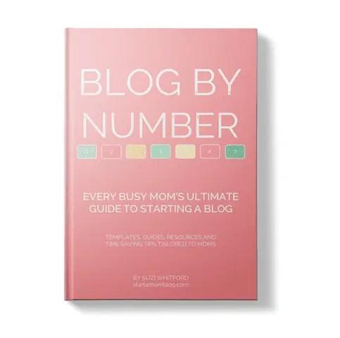 start a mum blog