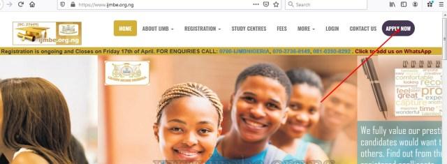 IJMB Registration Portal