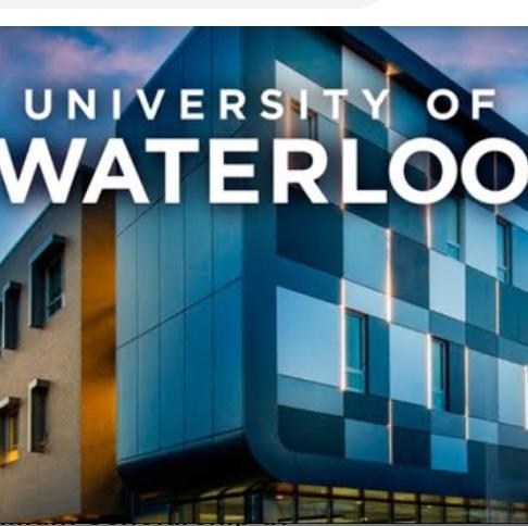 University of Waterloo Scholarship