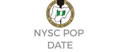 NYSC Batch A POP Date
