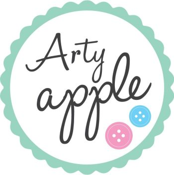 Arty Apple Personalised Bunting