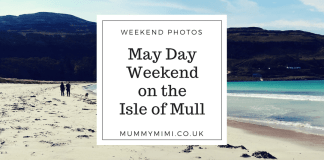 May Day Weekend on the Isle of Mull West Coast Scotland