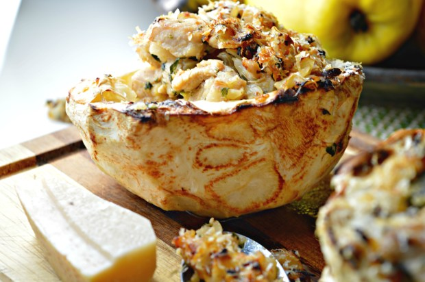 Stuffed Celeriac