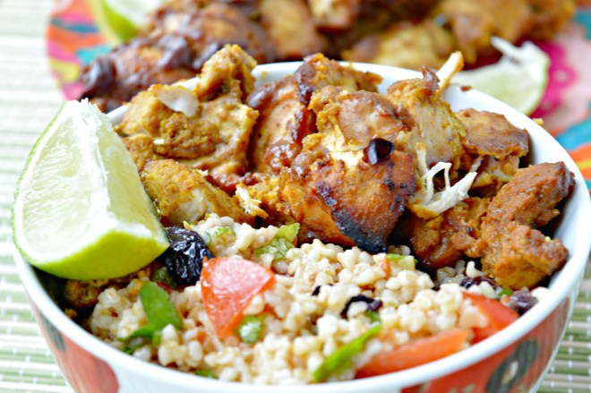 Simple Chicken Satay