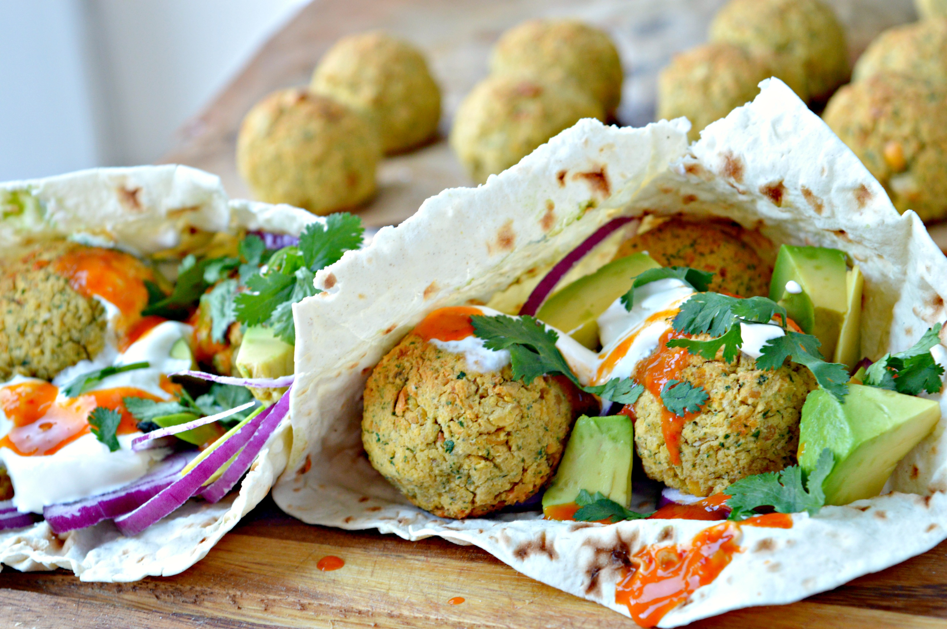 Easy Falafel Pita Tasty Food For Busy Mums