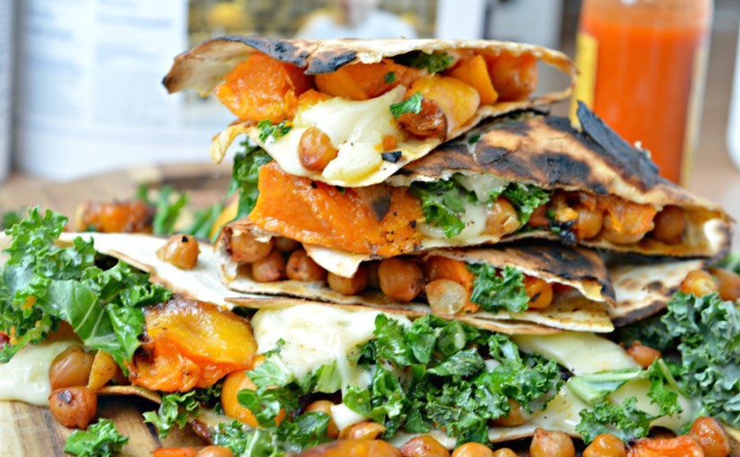 Kale & Butternut Squash Quesadillas