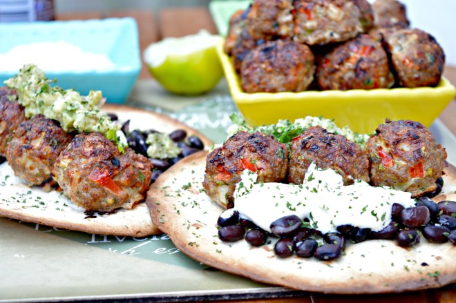 Turkey Meatballs Tacos