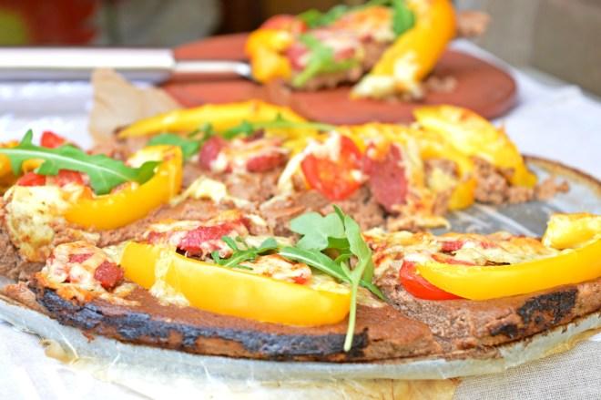 Mushroom & Cauliflower Crust Pizza