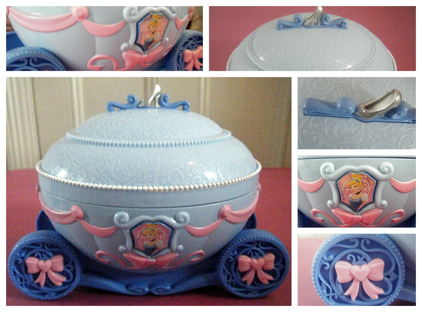 Disney Princess Cinderella Musical Jewellery Box Mummys Little