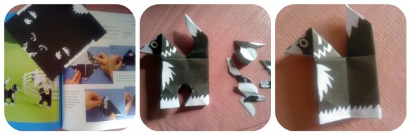 Origami Sheepdog