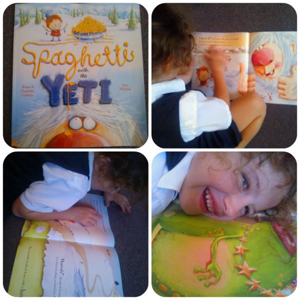 Spaghetti with the Yeti Egmont book