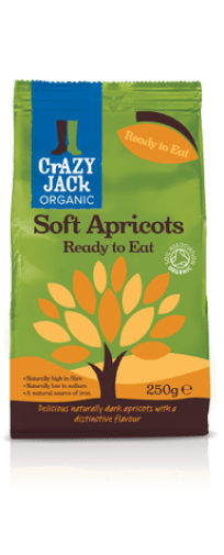 Crazy Jacks Organici Soft Apricots
