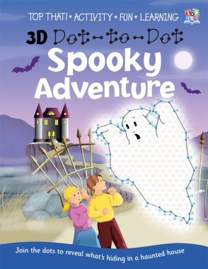 Halloween dot to dot book