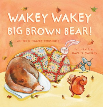 Wakey wakey big brown bear parragon
