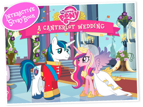 My little pony app canterlot wedding