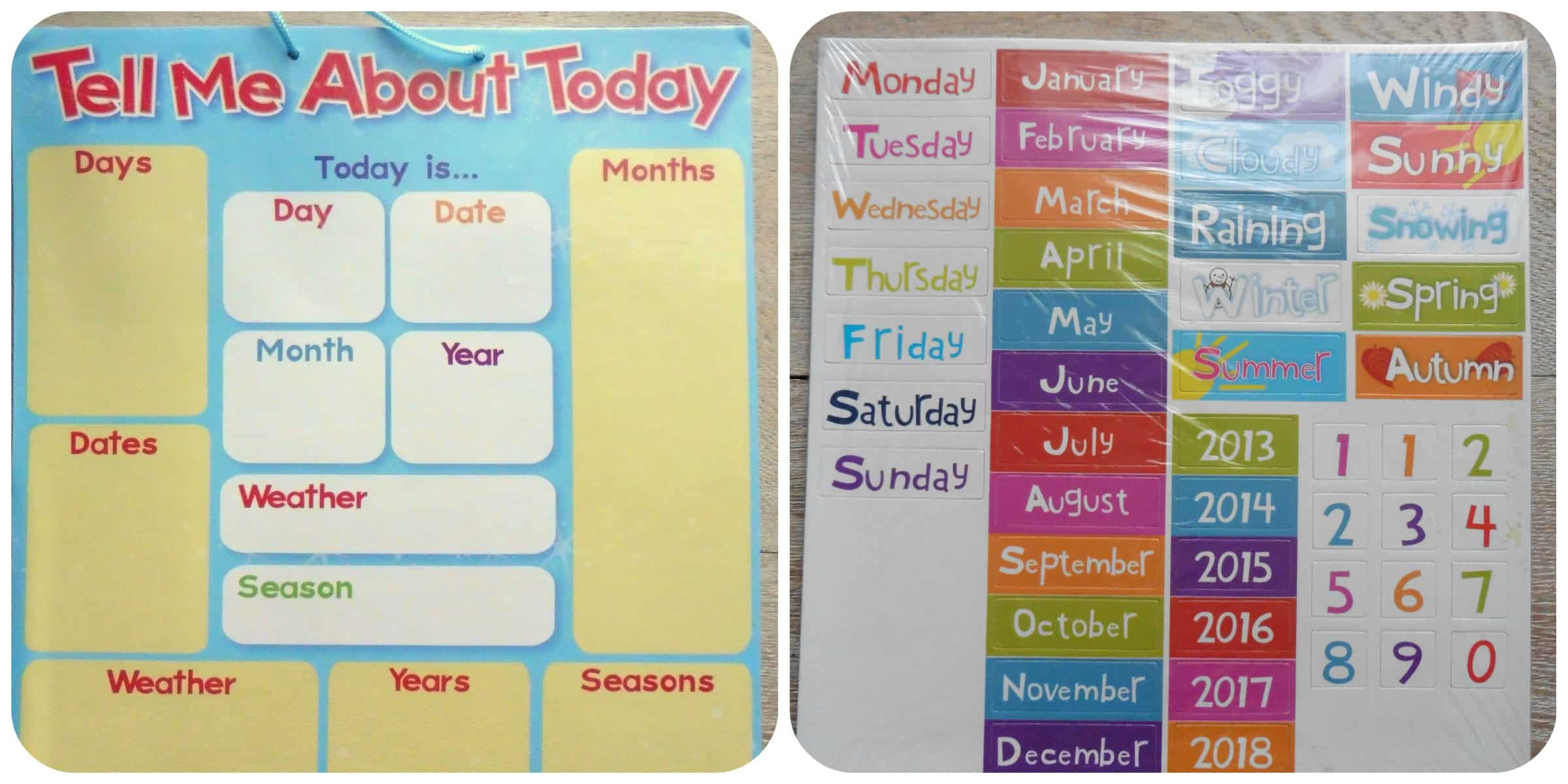 Magnetic Date Chart And Reward Stamps Review