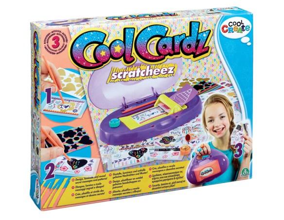 CLA00000 Cool Cardz Scratcheez Pack