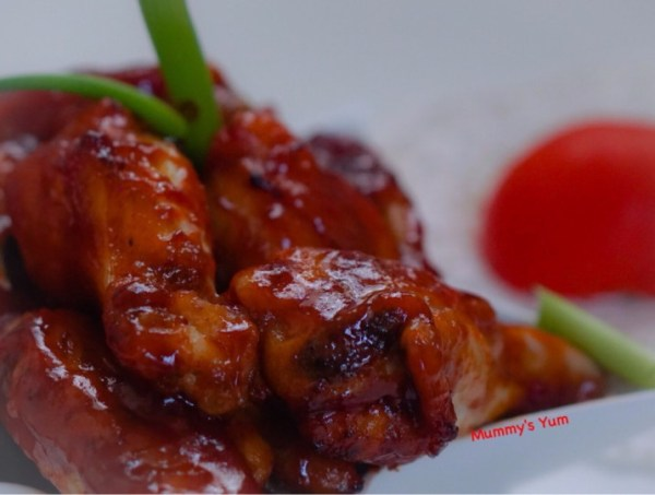 Sweet Chicken Wings