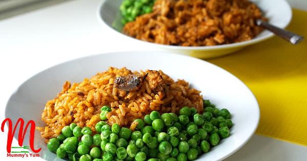 Sardine Jollof Rice