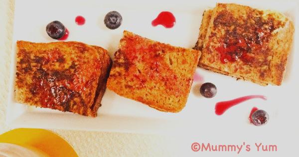 Ribena French Toast