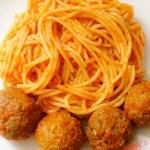 Spaghetti in Meatball Sauce