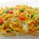 Steamed Noodles with Mixed Vegetables