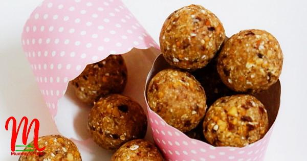 Groundnut Dough Balls