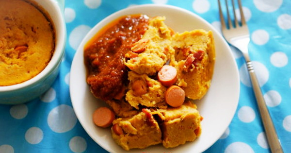 Stewed Moimoi and Sausages