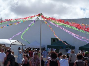 The colours of Teguise market