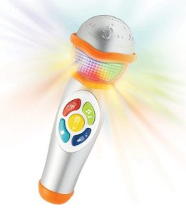 Kiddicare Buzzing Brains Sing-A-Tune Microphone
