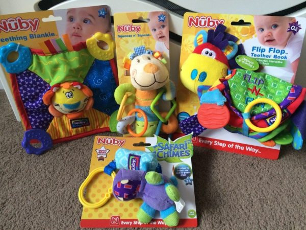 Nuby Teething Bundle