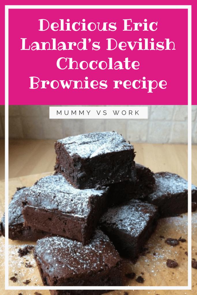 Eric Lanlard's Devilish Chocolate Brownies #Brownies #Baking #Chocolate