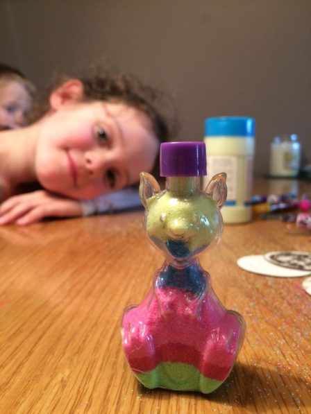 Half term crafting with Baker Ross