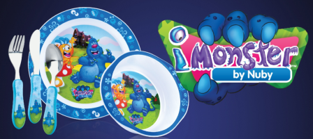 *Prize Draw* Nuby iMonster sets
