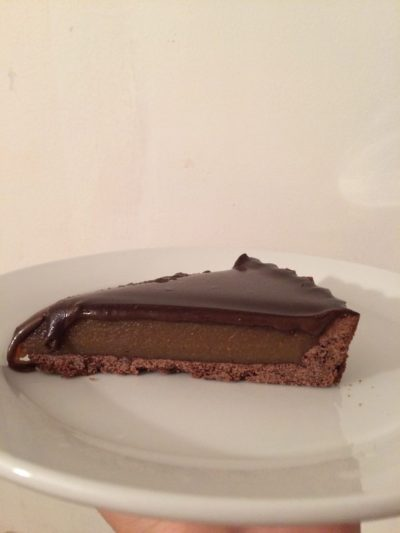 Caramel Chocolate Tart