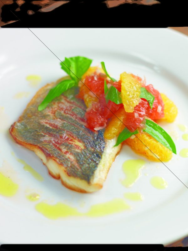 MR Jr. - Roast Gilt-head Bream with Citrus Fruit Vinaigrette