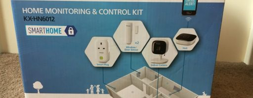 *Review* Panasonic Home Monitoring & Control Kit