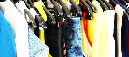 Clothes shopping in comfort and the chance to earn some extra money