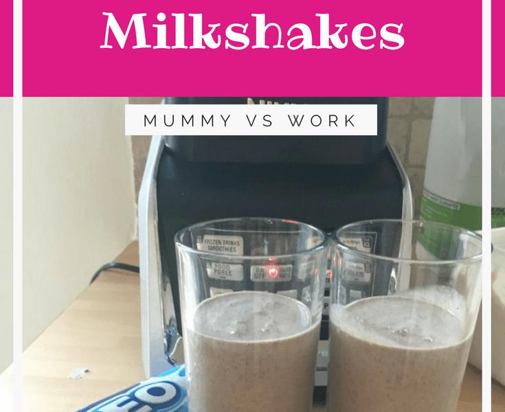 Super easy Oreo Milkshakes