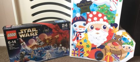 Counting down to Christmas with Advent calendars