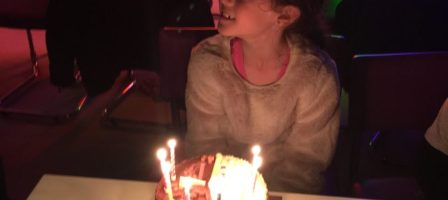 Dear Kayleigh… The day you turned 8