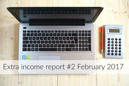 Extra income report #2 – February 2017